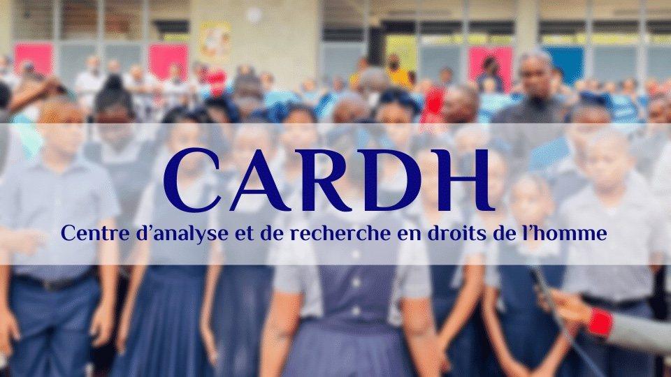 Rentrée des classes: Martissant, Bas de Delmas et Cité Soleil jetés aux oubliettes, le CARDH s'insurge