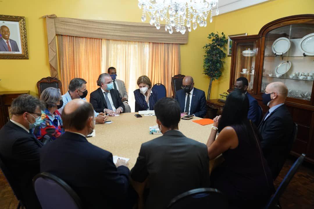 Le premier ministre Ariel Henry a rencontré le Core group sur la situation générale du pays