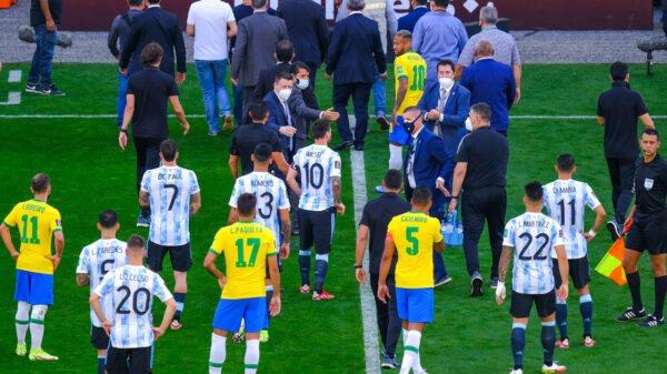 Football: Le match Brésil-Argentine interrompu pour des violations du protocole anti-Covid