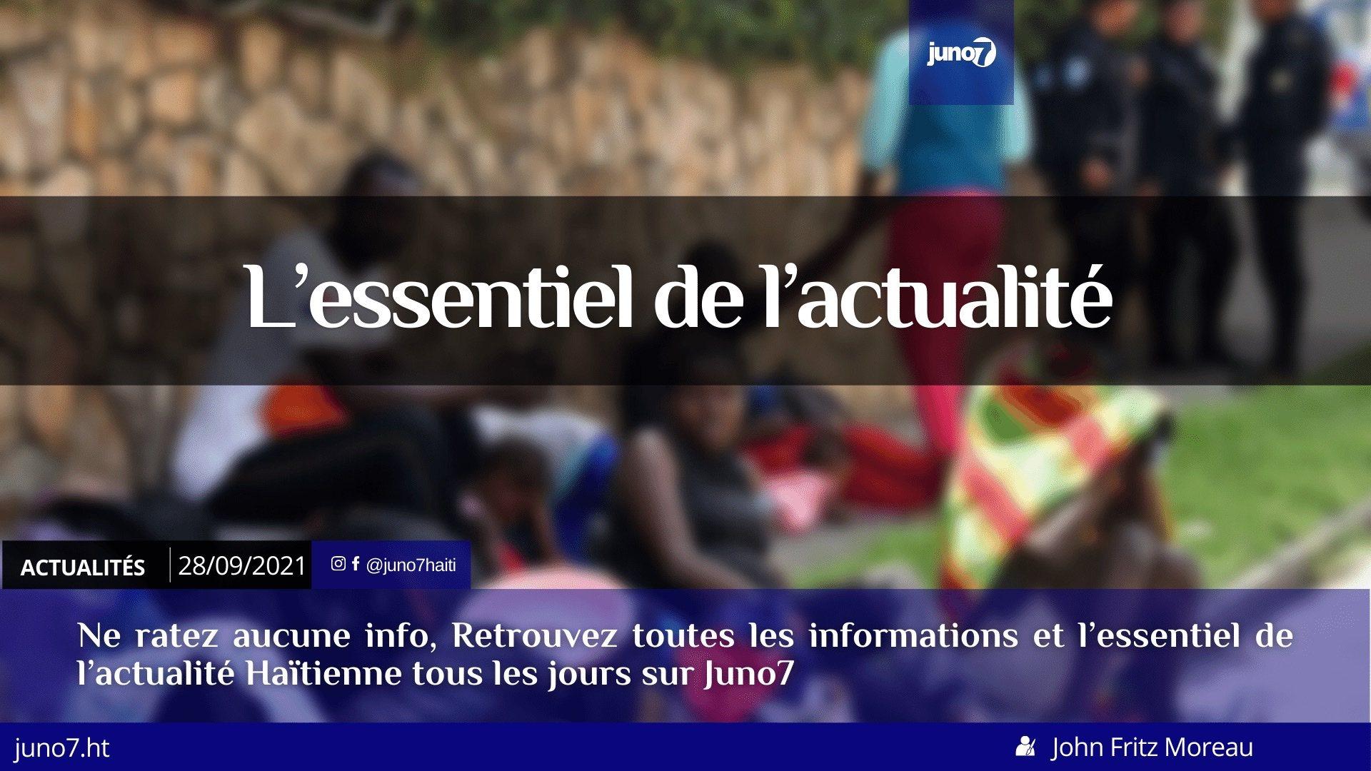 Haïti: l'essentiel de l'actualité du mardi 28 septembre 2021