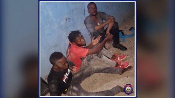 Nippes: Trois présumés bandits arrêtés, trois armes à feu saisies par la PNH