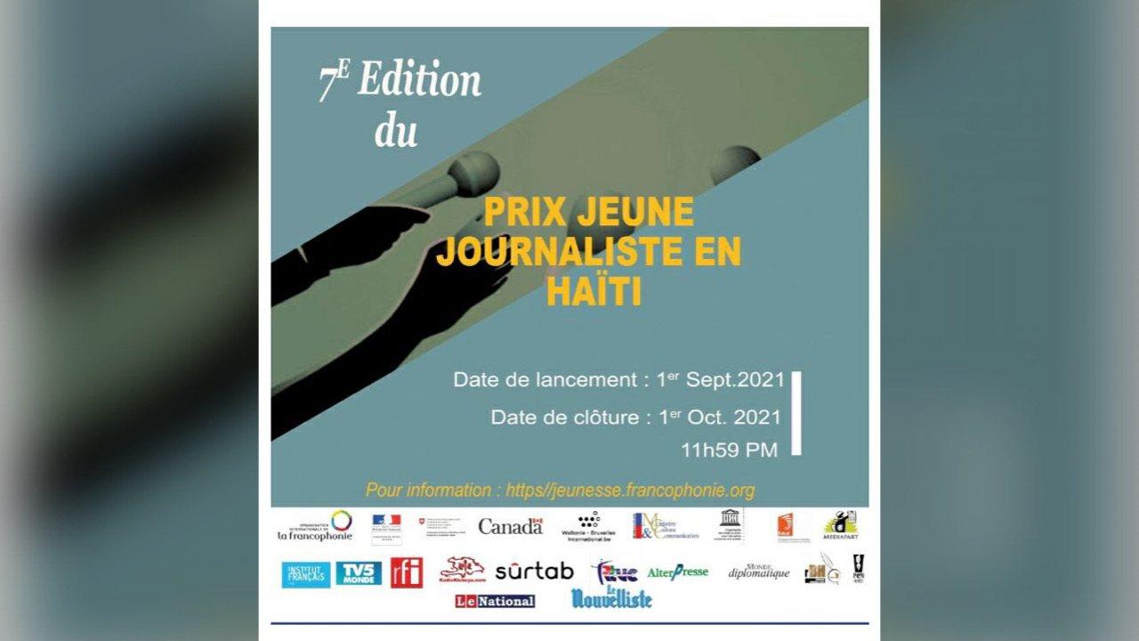 Lancement de la 7e édition du Prix jeune journaliste en Haïti