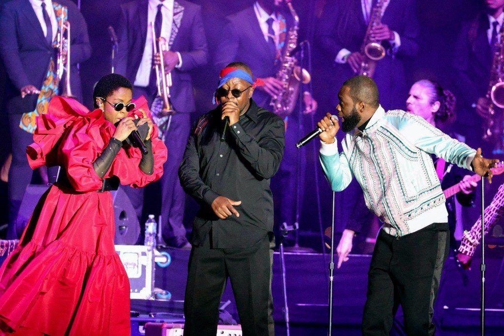 """Les Fugees: leur premier concert en 15 ans est un """"miracle"""", selon Lauryn Hill"""