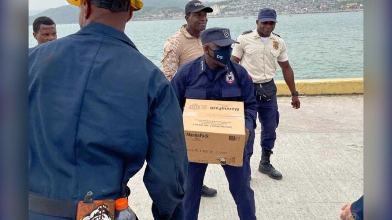 Grand'Anse: Léon Charles évalue les impacts du séisme sur les infrastructures policières