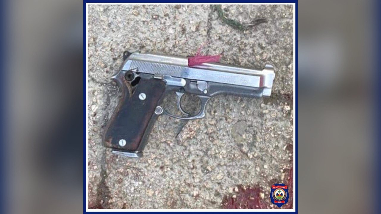 Un présumé bandit stoppé, une arme à feu saisie par la police de la Croix-des-Bouquets