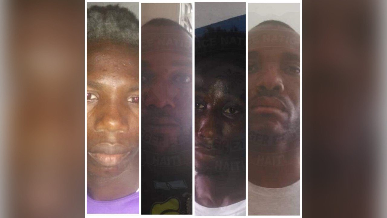 La PNH a procédé à l'arrestation de 4 présumés bandits à Gros Morne