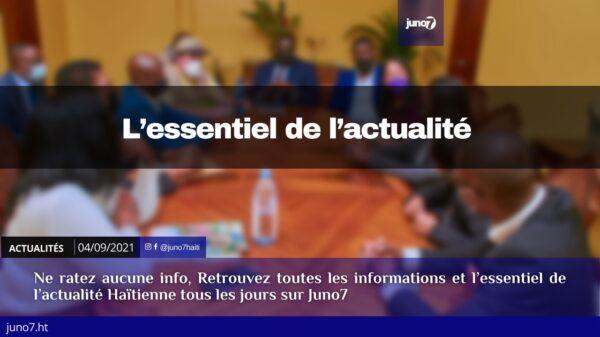 Haïti: l'essentiel de l'actualité du samedi 4 septembre 2021