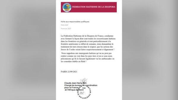 La FHD condamne le traitement inhumain dont sont l'objet les ressortissants haïtiens à Del Rio