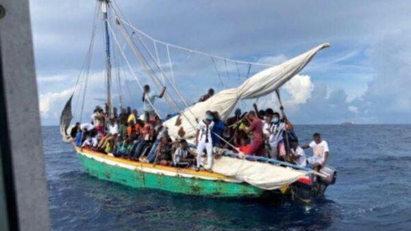 Etats-Unis: plus de 100 haïtiens interceptés par les garde-côtes américains