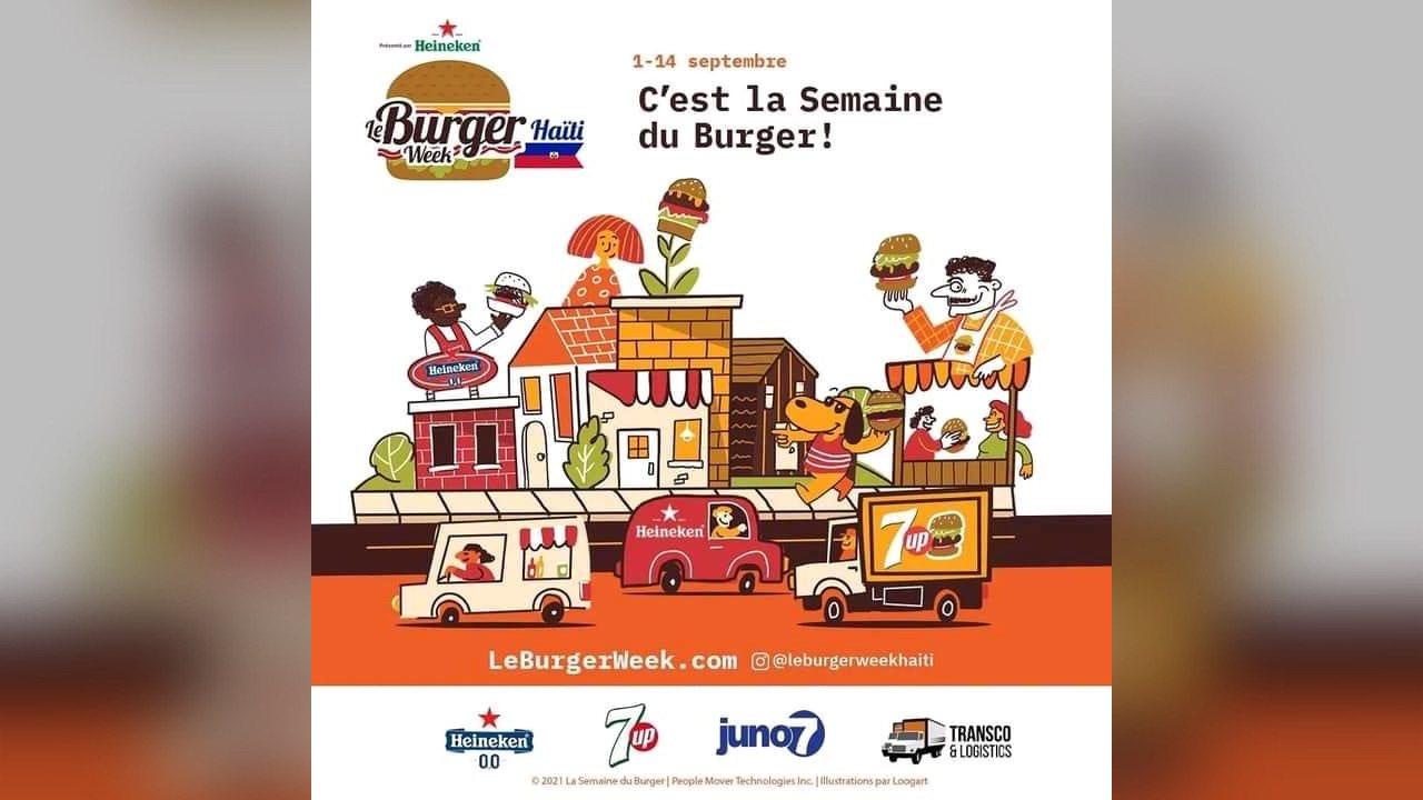 Le Burger Week Haïti de retour! An n al manje bègè!