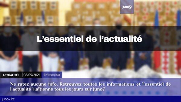 Haïti: l'essentiel de l'actualité du mercredi 8 septembre 2021