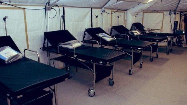 La DPC a reçu 4 hôpitaux de campagne du gouvernement américain