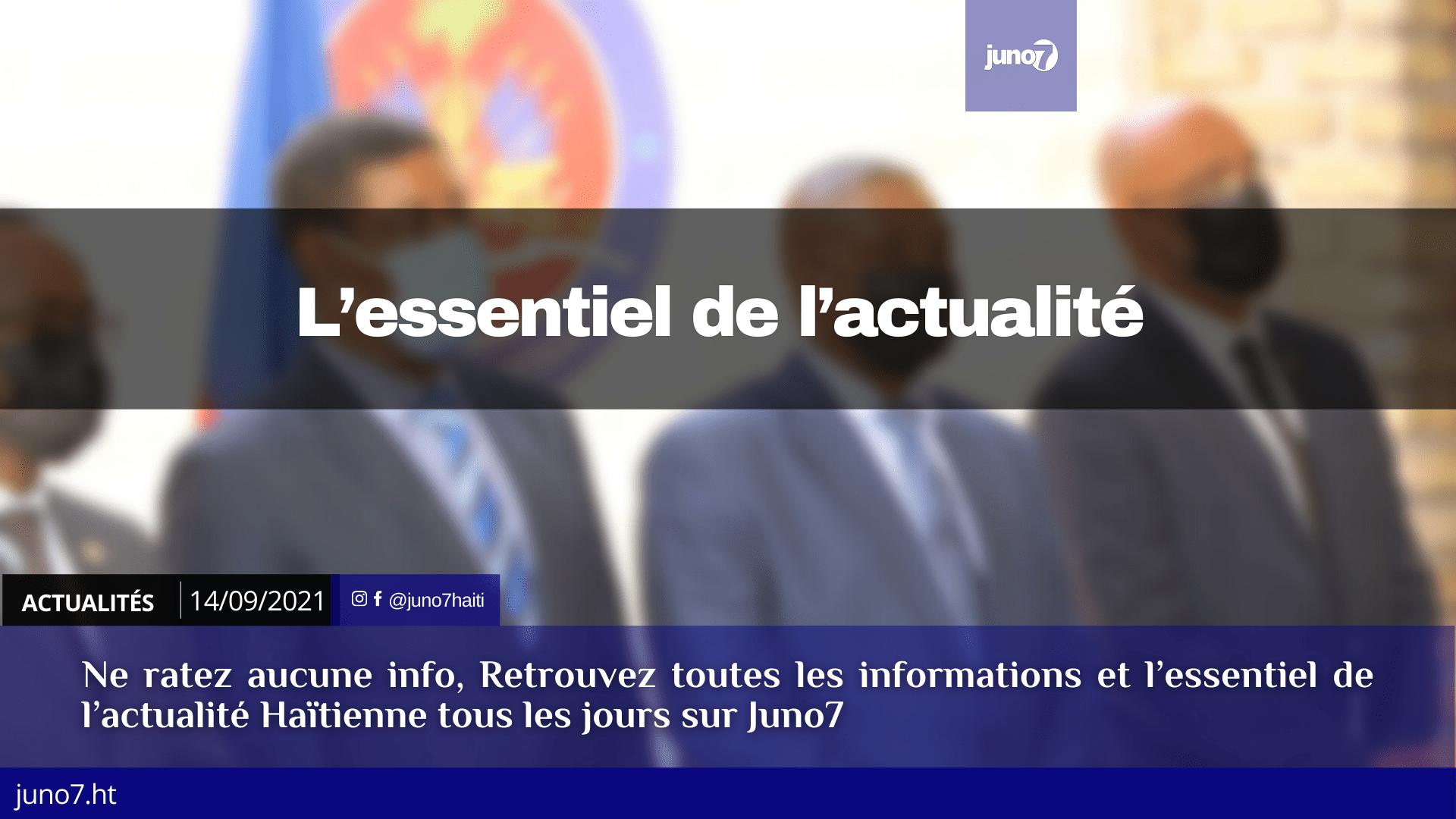Haïti: l'essentiel de l'actualité du mardi 14 septembre 2021