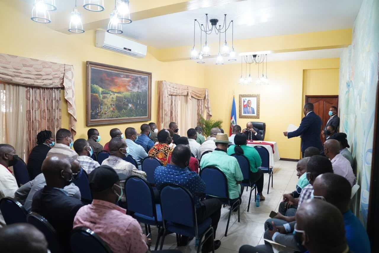 Ariel Henry appelle à la solidarité de tous les acteurs pour un accord politique inclusif