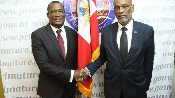 Me Josué Pierre-Louis installé dans ses fonctions de Secrétaire général du Conseil des ministres