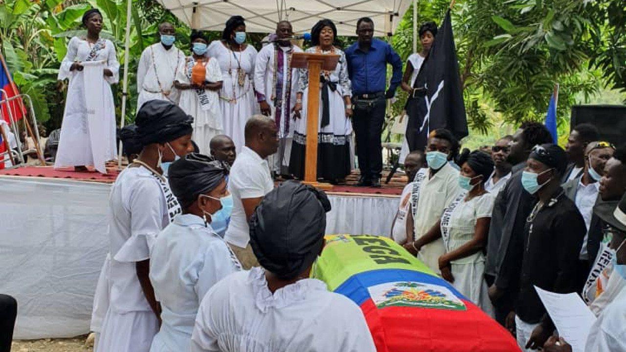 Funérailles de Louis Baptista Laurent à Jérémie