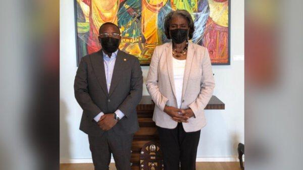 Accord et élections au menu la rencontre de Claude Joseph avec l'ambassadeur des USA à l'ONU