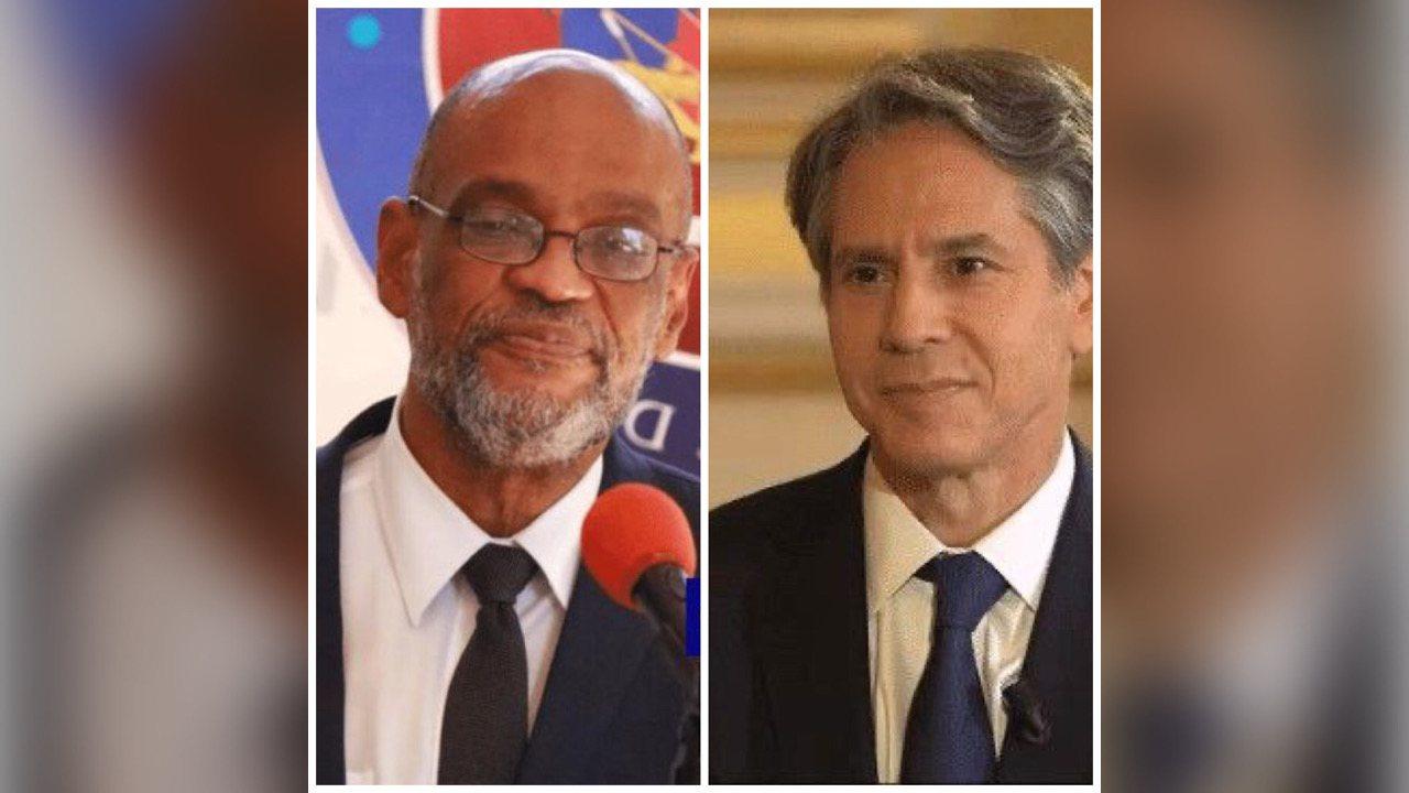 Crise des migrants haïtiens: le PM Ariel Henry s'est entretenu avec le secrétaire d'État Blinken