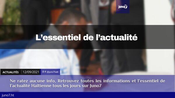 Haïti: l'essentiel de l'actualité du dimanche 12 septembre 2021