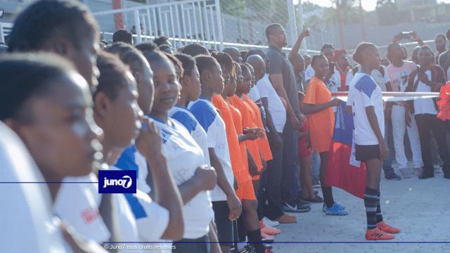 Inauguration du Parc Sainte Claire par l'ex député de Delmas Gary Bodeau