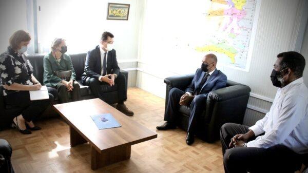 Le premier ministre haïtien a rencontré le Commissaire européen