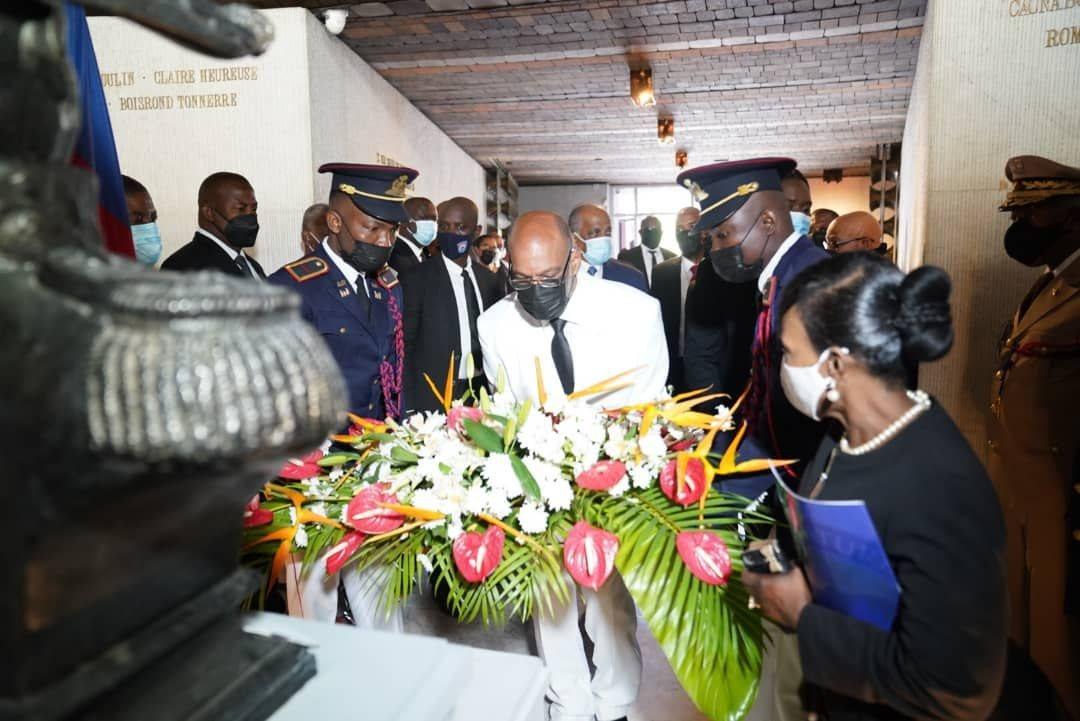 Le PM Ariel Henry salue la mémoire du père de la patrie et visionnaire Jean Jacques Dessalines