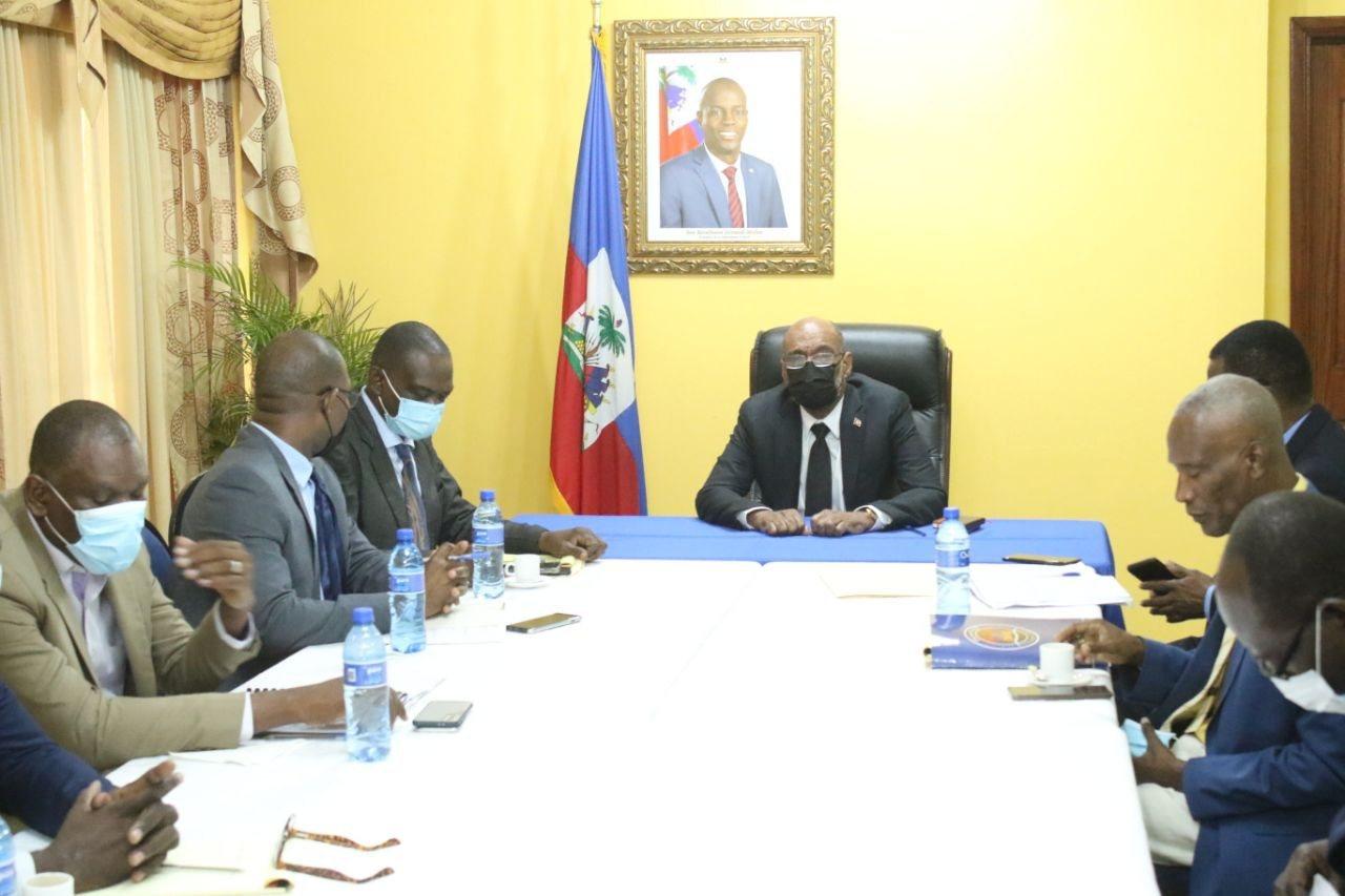 Le PM Ariel Henry rencontre les cadres du MARNDR et de l'ODVA