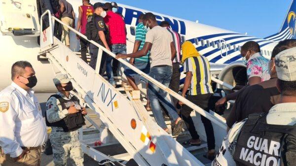 Un deuxième groupe de 129 Haïtiens rapatriés par le Mexique