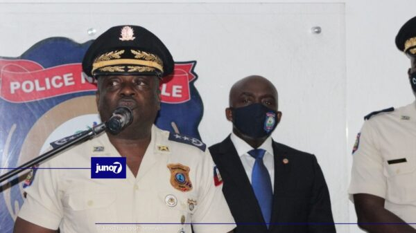 Le nouveau DG ai de la PNH promet de combattre l'insécurité