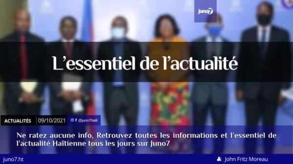 Haïti: l'essentiel de l'actualité du samedi 9 octobre 2021