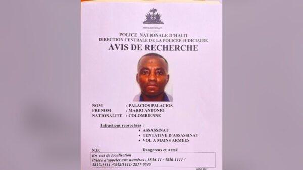 Assassinat de Jovenel Moïse: une source à la PNH confirme l'arrestation du mercenaire Palacios Palacios