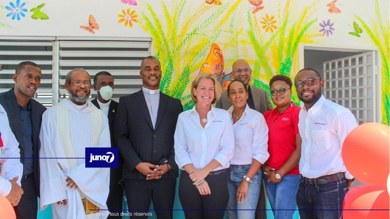 La fondation Digicel inaugure les locaux de l'institution Mixte notre Dame de l'Assomption