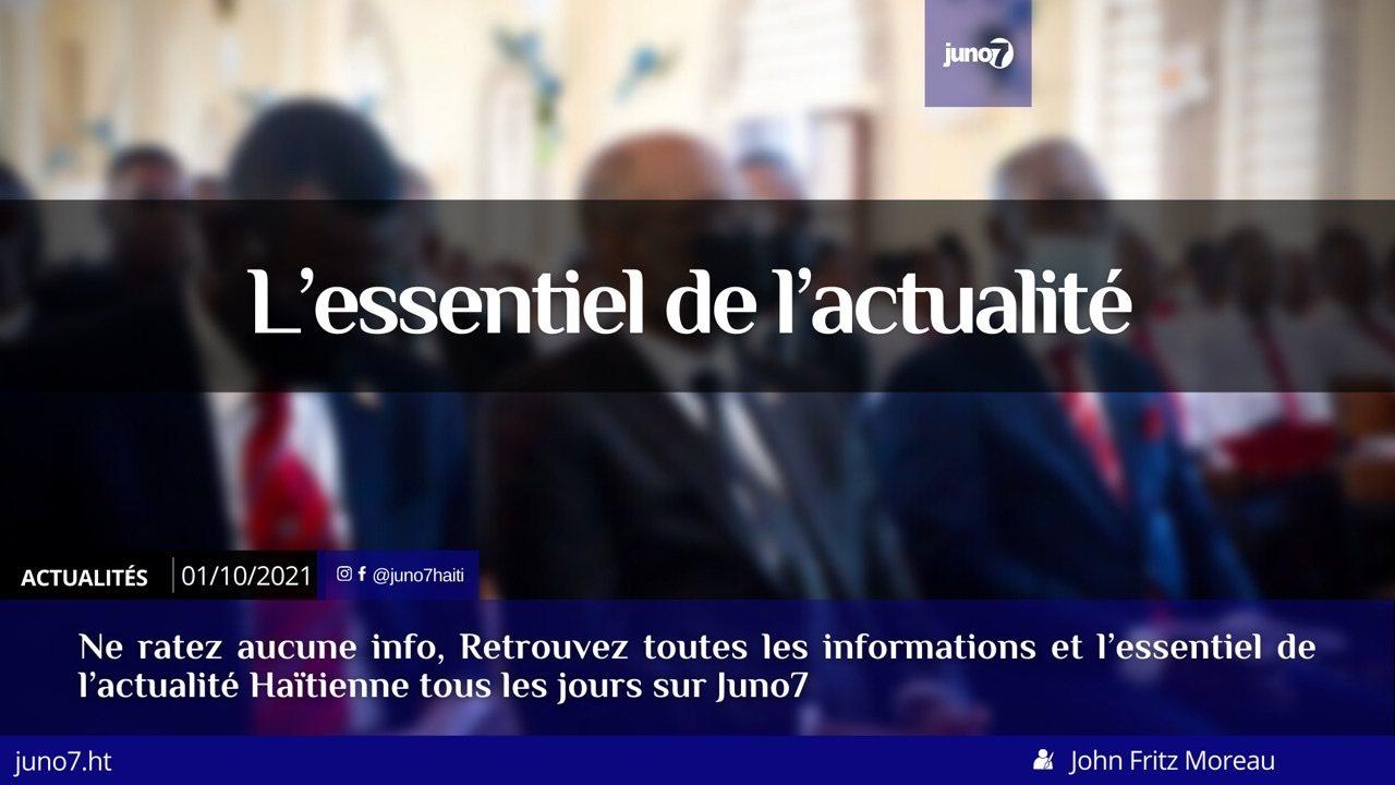 Haïti: l'essentiel de l'actualité du vendredi 1er octobre 2021