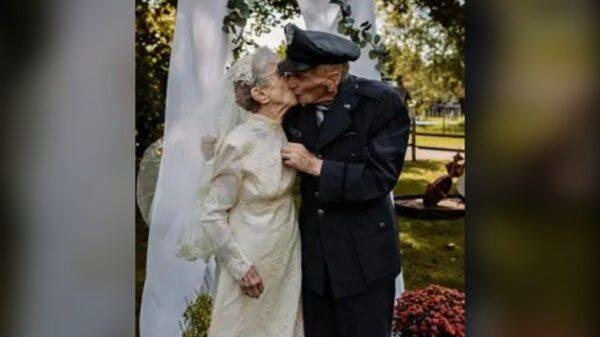 Etats-Unis: ils se remarient 77 ans après simplement pour avoir des photos de leur mariage