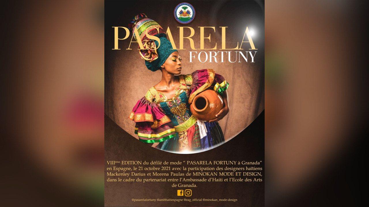 """Espagne: Deux designers haïtiens participeront au défilé de mode """"Pasarela Fortuny"""""""