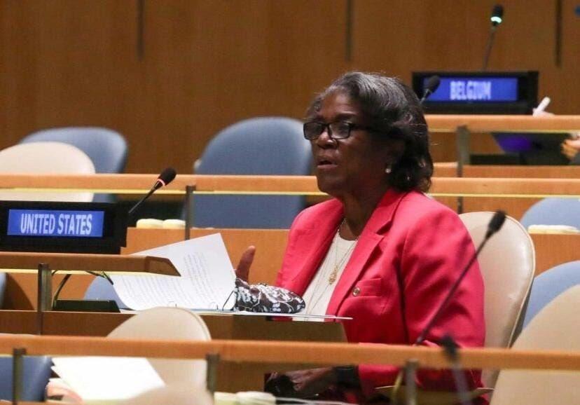 A l'ONU, l'ambassadrice Thomas-Greenfield demande justice pour Jovenel Moïse et Monferrier Dorval