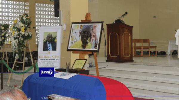 Des funérailles officielles pour le Dr Rony Gilot