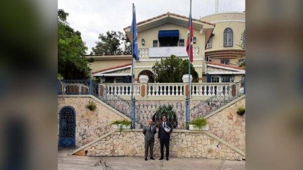 Rencontre entre le Représentant de la FAO en Haïti et l'Ambassadeur de France en Haïti
