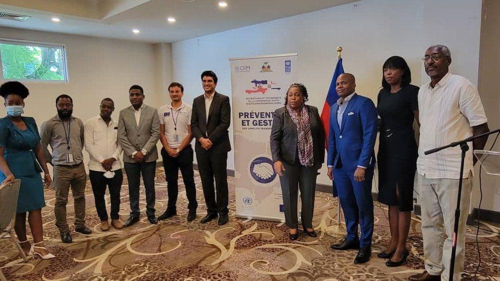Des cadres de plusieurs ministères formés sur la Gestion des Conflits Transfrontaliers entre Haïti et la RD