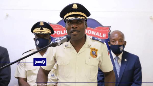 Fritz Saint Fort, nouvel inspecteur général en chef de la PNH