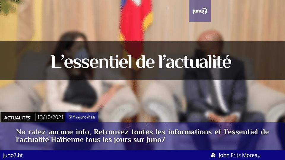 Haïti: l'essentiel de l'actualité du mercredi 13 octobre 2021