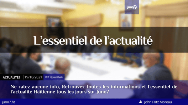 Haïti: l'essentiel de l'actualité du mardi 19 octobre 2021