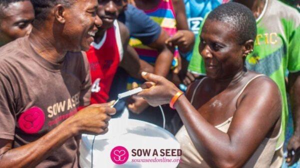 """""""Sow a seed"""" toujours aux côtés des enfants défavorisés"""