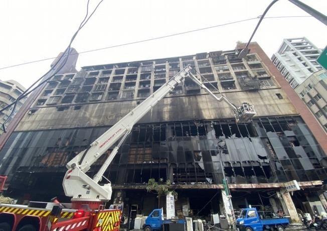 Un incendie dans un immeuble à Taïwan fait au moins 46 morts